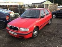 Skoda Felicia only 43000 miles from new in vgcondition one years mot drives like new still px welcom