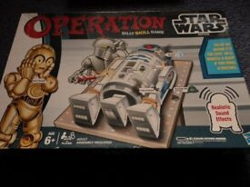Hasbro - Operation Game Star Wars R2D2 Ex condition