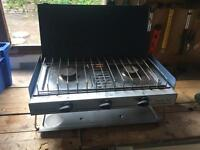 Gas camping Stove and grill