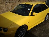 MG ZR 51 Plate - non-runner but could be quickly bought back to life!