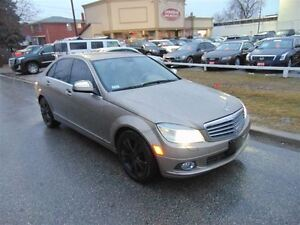 2008 Mercedes-Benz C-Class C300-4MATIC-PREM PKG-LEATHER-SUNROOF