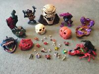 Selection of Mighty Max toys.