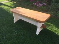 Coffee Table Bench solid oak!