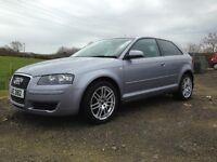 2008 Audi A3 1.6 Petrol Se 3 Door*Full Service History*Sat Nav*Parking Sensors*Great Condition*