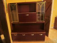 Pull down dining room cabinet