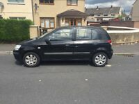 Very low miles Hyundia Getz 5 door 54 reg in good condition drives well px welcome