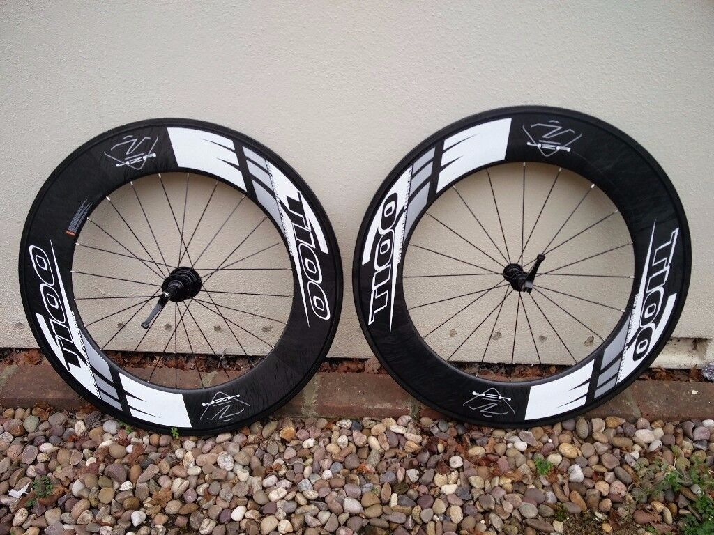 Forza Cirrus Pro T100 Tubular Carbon Wheelset 10 Speed Shimano Fit