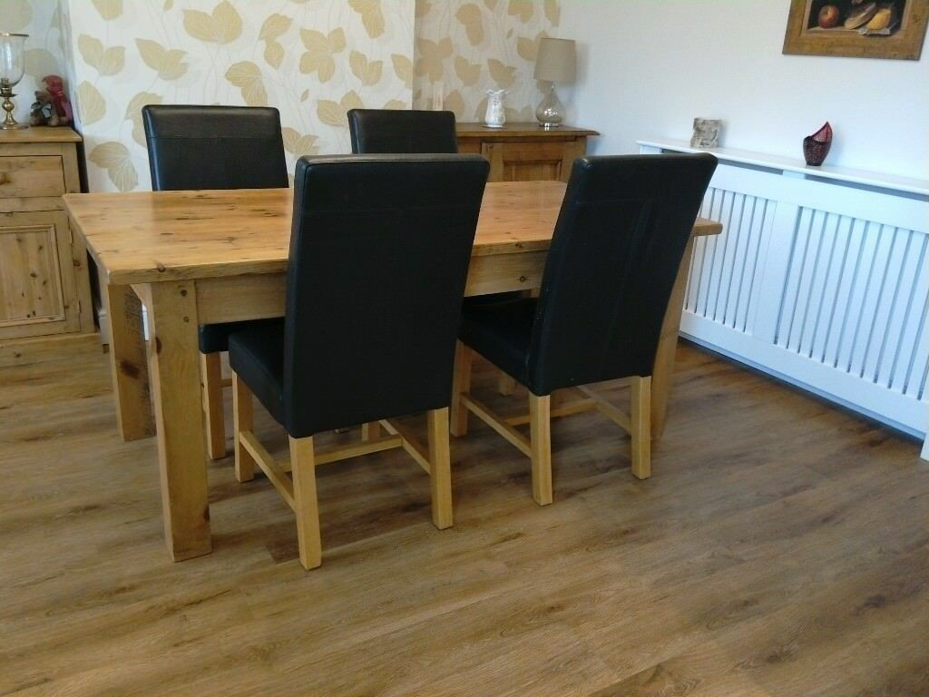 Pine Table Solid Reclaimed Wood REDUCED