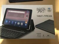 alcatel one touch tablet with cellular and wifi touch pad and case