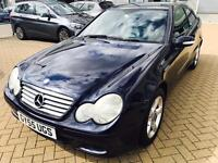 2005 Mercedes Benz,C230 SE COUPE,AUTOMATIC,F.S.Hstry,1 Y MOT1 former owner
