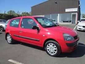 2003 RENAULT CLIO 1.2 PETROL