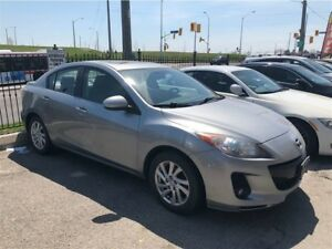 2012 Mazda Mazda3 MANUAL! LOADED!FULLY CERTIFIED@NO EXTRA CHARGE