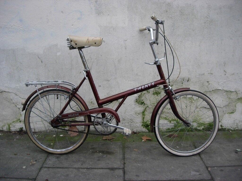Classic Shopper Bike by Raleigh, 20 inch Wheels, All Original!!, JUST SERVICED/ CHEAP PRICE!!!!!!!!