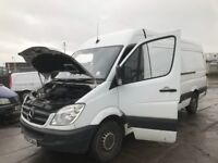 Mercedes Benz sprinter w903 2007 yesr lwb high top van breaking spare parts available