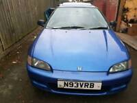 1995 EG civic breaking for parts or sell as whole