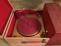 Vintage Dansette record player
