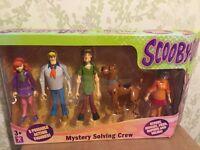 Scooby Doo mystery solving crew