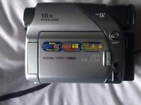 JVC Digital Video Camera Camcorder 16X Optical Zoom 8 x new tapes good working order