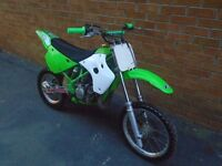 kawasaki kx 80 in great condition , kx80 ready to go. quick bike