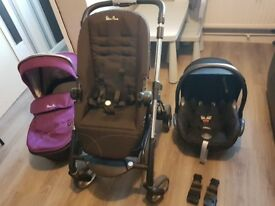 Silvercross wayferer travel system