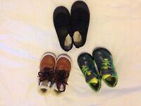 Boys size 11 shoes- bundle of 3 pairs