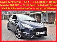 (19800 Miles) -- 2015 Ford Fiesta 1.6 EcoBoost -- ST 2 -- TURBO -- 180 BHP -- PowerFul -- Great Spec