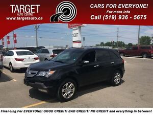 2009 Acura MDX Loaded; Leather, Navi, Back-Up Camera and More !!
