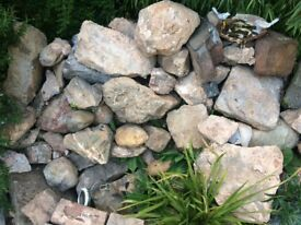 Local stones for Walls/Rockery/Building, £95