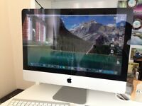 IMac 2011 with keyboard and track pad