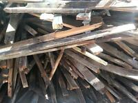Wood for burning