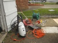 from a large house clearance garden power tools movers