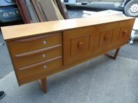 Long Wood Sideboard