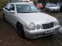 VERY CLEAN LOW MILAGE ECLASS AVANTGARDE AUTOMATIC NEW MOT NEW ALLOYS EXTRAS ONLY 71000 £1295