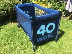 Cosatto travel cot 40 winks