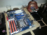 Old PC Parts (i7 CPU AND MOTHERBOARD)