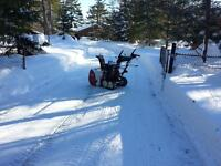 Bookings for snow clearing in Muskoka, book now and save!