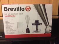 Breville stainless steel hand blender 400w