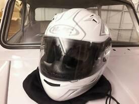 HJC Large motorbike helmet
