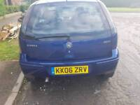 Vauxhall corsa 1.3 turbo diesel 2006