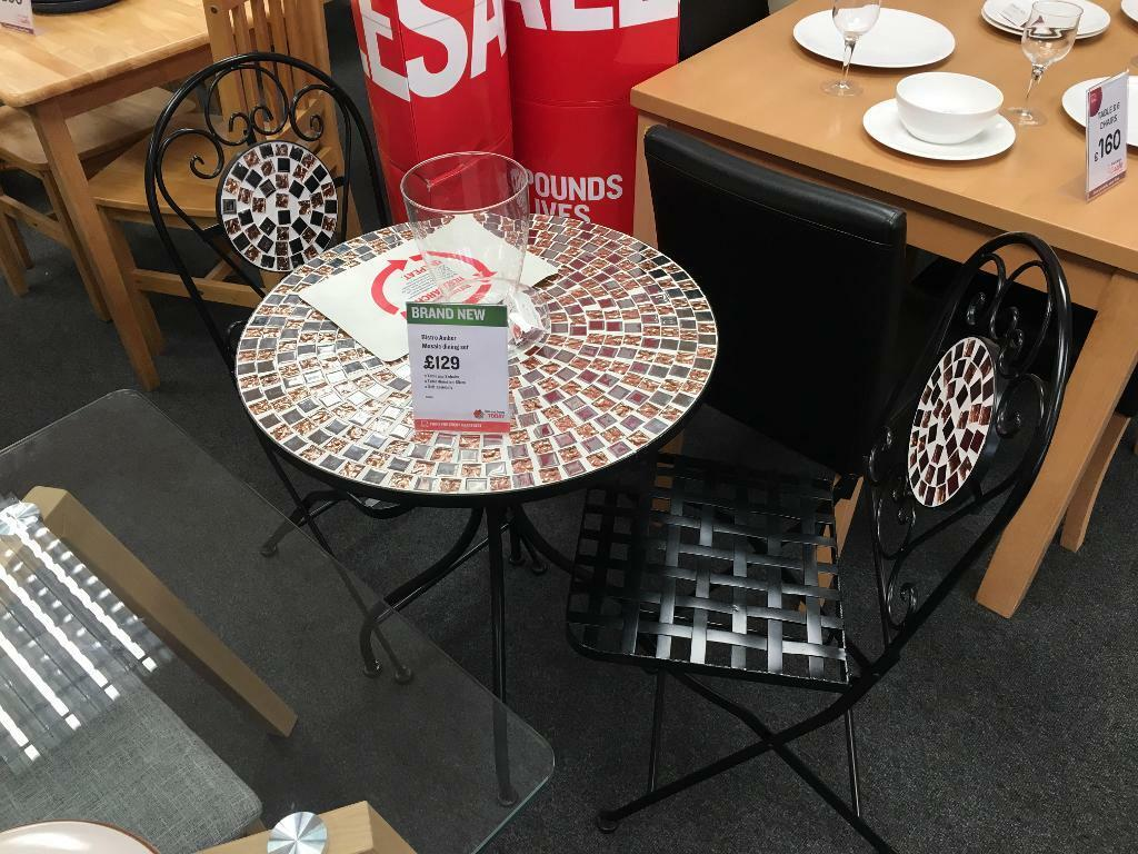 Bhf Sheffield City Centre Brand New Bistro Amber Mosaic Dining Set 129 In Sheffield South Yorkshire Gumtree