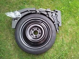 Nissan Pulsar space saver spare wheel kit 2014-present