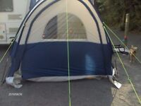 caravan sunncamp scenic plus porch awning navy/gray 23o x230 x230 x 200 inside head height.