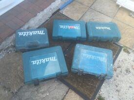 Makita power tool cases