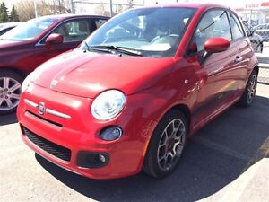 2014 Fiat 500 Sport MANUELLE AC MAGS