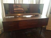 Vintage Solid Wood Dressing Table
