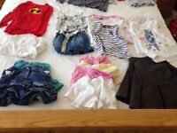 Girls clothes bundle 5-6 yrs (55 items)