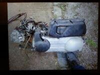 piaggio X9 250cc ENGINE