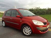 07 RENAULT SCENIC DYNAMIQUE 1.5 DCi••LOW MILES••PANORAMIC SUNROOF