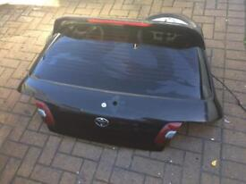 Toyota starlet gt turbo bootlid with spoiler