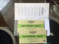 1 x Goodwood Revival Saturday 2017